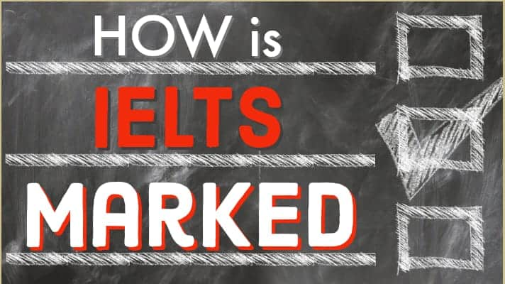 how is ielts marked