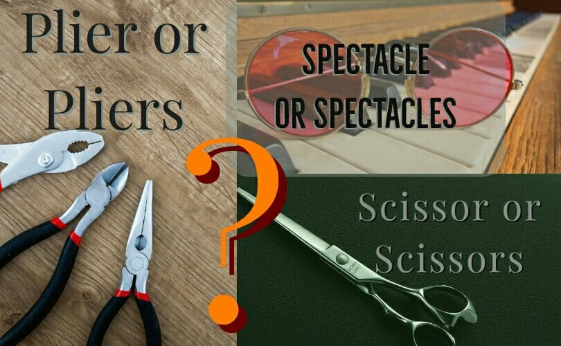 Is it a pant or pants... a scissor or scissors? image