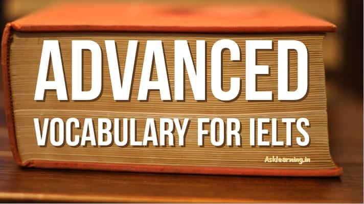 advanced vocabulary for ielts pdf