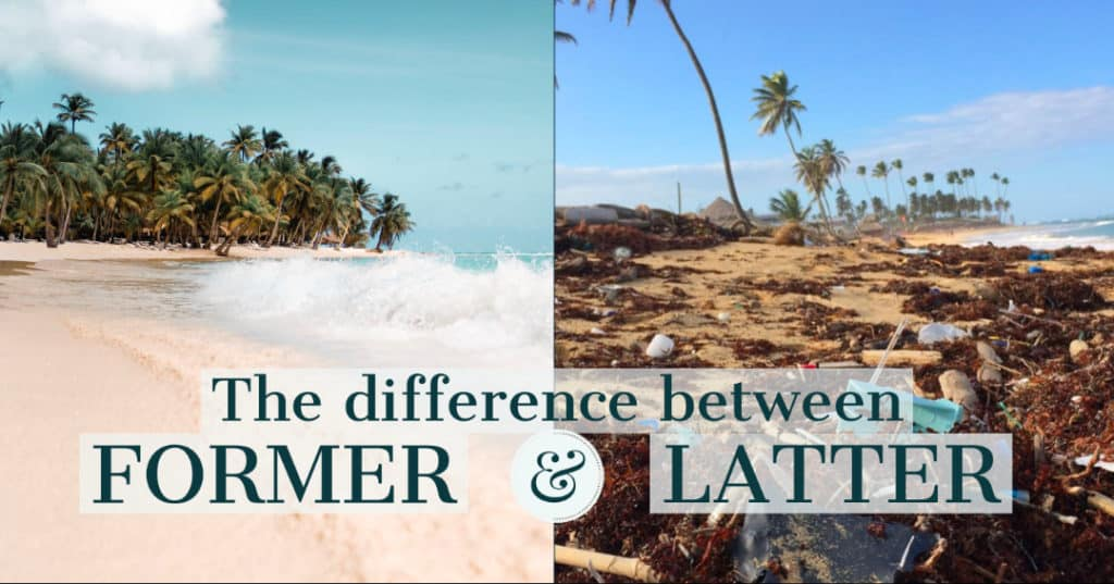 Vocabulary - The difference between Former and Latter