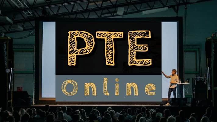 PTE online classes in India