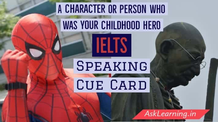 A Character or Person Who Was Your Childhood Hero